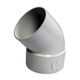 NDS White PVC Elbow 4