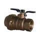 Lead Free Brass Backflow Ball Valve with Union 1