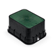 Rain Bird PVB Series PVBJMB Jumbo Rectangular Valve Box with Green Lid