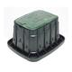Rain Bird VB Series VBSTDH Standard Rectangular Valve Box with Locking Green Lid