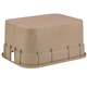 Rain Bird PVB Series PVBJMBT Jumbo Rectangular Valve Box with Tan Lid