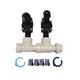 Hydro-Rain HRP-100-PF-BL 2 Valve Manifold 1