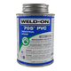 Weld-On 705 Clear PVC Cement 8 oz | 705-010