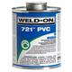 Weld-On 721 Blue PVC Cement 16 oz   721-020