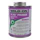 Weld-On P-70 Industrial Grade Purple PVC Primer 16 oz   P70-020