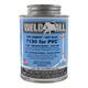 Weld-All 7130 Hot Blue PVC Cement 8 oz   7130-010