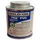 Weld-On 705 Industrial Grade Gray PVC Cement 8 oz | 705-010G