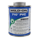 Weld-On 710 Clear PVC Cement 16 oz   710-020