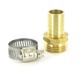 Aqualine Brass Hose Repair Fitting MHT
