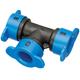 Hydro-Rain ABS Plastic Blu-Lock Fitting 1/2