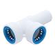 Hydro-Rain ABS Plastic PVC-Lock Manifold Tee 1