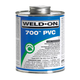 Weld-On Fast-Set Clear PVC Cement