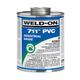 Weld-On Gray Heavy PVC Cement