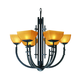 Access Lighting Ambrato 27 Inch Chandelier