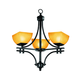 Access Lighting Ambrato 21 Inch Chandelier