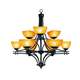 Access Lighting Ambrato 34 Inch Chandelier
