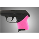 Hogue Handall Slip-On Grip Sleeve for Ruger LCP Pink Rubber 18107