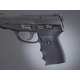 Hogue Wrap-around Rubber Grips with Finger Grooves for Sig Sauer P239 Black 31000