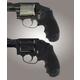 Hogue Tamer Grip for Smith & Wesson Centennial, Bodyguard Black Rubber 60020