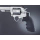 Hogue Monogrip Grips for Taurus Medium and Large Frame Revolvers Square Butt Black Rubber 66000