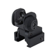 Midwest Industries ERS Flip-up Rear Sight Black - MCTAR-ERS