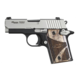Sig Sauer P938 9mm Blackwood Two-Tone Pistol 938-9-BG-AMBI