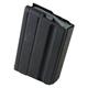 ASC Magazine: AR-15: 6.8 SPC 10rd Black Marlube Stainless Steel Gray Follower - 10-68-SS-BM-G-ASC