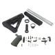 Palmetto State Armory Magpul MOE Lower Build Kit - Black, ALG QMS Trigger - 38336