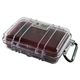 Pelican 1020 Micro Case Red Clear 1020-028-100