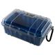 Pelican 1050 Micro Case Blue Clear 1050-026-100