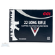 CCI .22 Long Rifle 40gr JHP AR Tactical Ammunition 375rds - 953