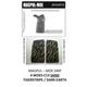 Decal Grips MagPul MOE Grip only Tiger Stripe Dark Earth-Sand MOE-C13
