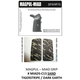 Decal Grips MagPul MIAD Grip only Sand-Camo MIADS-C13