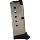 Diamondback DB380 6rd Magazine w/ Finger Extension - Stainless Steel SSG02