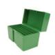 RCBS Flip-Top Ammo Box 25-06 Rem, 270 Win, 30-06 Springfield 50-Round Plastic Green - 86903