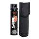 Sabre Magnum 120 Pepper Spray with Flip Top and Belt Holster - BG-M120FT-NH