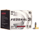 Federal 22 Long Rifle 40gr Solid Champion AutoMatch Ammunition 325rds - AM22