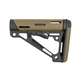 Hogue OverMolded Collapsible Stock, Desert Tan