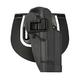 Blackhawk! Serpa Sportster OWB Holster for Glock 20/21/37, Black