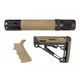 Hogue AR-15/M-16 Kit- Includes Mil-Spec Buffer Tube and Hardware - Desert Tan - 15378