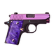 Sig Sauer P238-380 PSP Purple with Night Sights