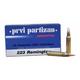 PRVI Partizan 223 Remington 62gr FMJBT Ammunition 20rds - PP5.5
