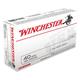 Winchester USA 40 S&W 180gr FMJ Ammunition 50rds - Q4238