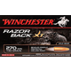 Winchester 270 130gr RazorBack XT Ammunition 20rds - S270WB