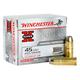 Winchester 45 Colt 225gr Silver-Tip Hollpw Point Super-X Ammunition 20rds - X45CSHP2