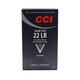 CCI .22 LR 40gr LRN Quiet-22 Ammunition, 500rds (10 boxes of 50) ‒ 0960