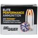 Sig Sauer 45 Auto/ACP 230gr JHP Elite Performance Ammunition 20rds - E45AP2-20