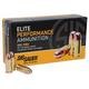 Sig Sauer 38 Super+P  **NOT FOR REVOLVERS ** 125gr FMJ Elite Ball Ammunition 50rds - E38SUB-50