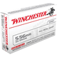 Winchester USA 5.56 55gr FMJ Ammunition 20rds - Q3131
