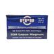 PRVI Partizan 338 Lapua Magnum 250gr FMJ Ammunition 20 Round Box - PP3.38